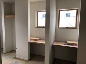 子供部屋・将来は2部屋にできます